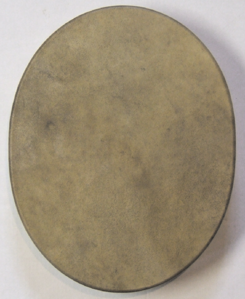 Buffalo Oval Rawhide Drum