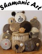 Bear, Buffalo, Elk, Horse and Moose Drums and Rattles