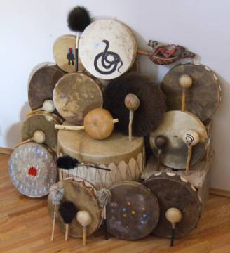 Shamanic Art: Ceremonial Drums and Rattles