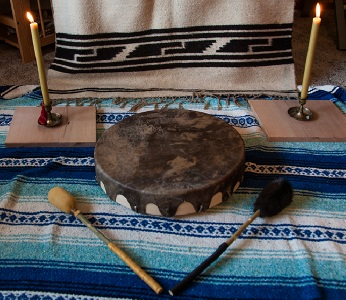Client's Drum Welcoming Ceremony